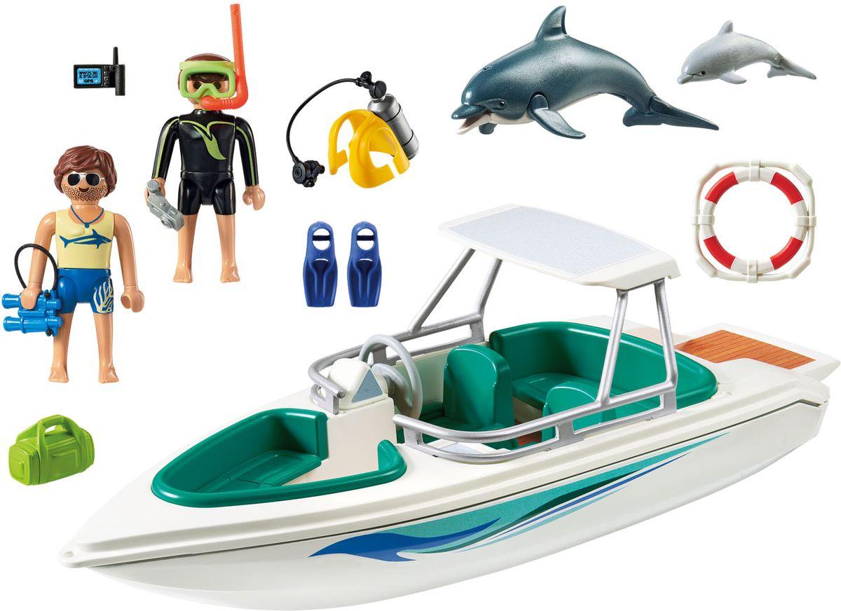Playmobil Игровой набор Круизный Лайнер Дайвинг с катером