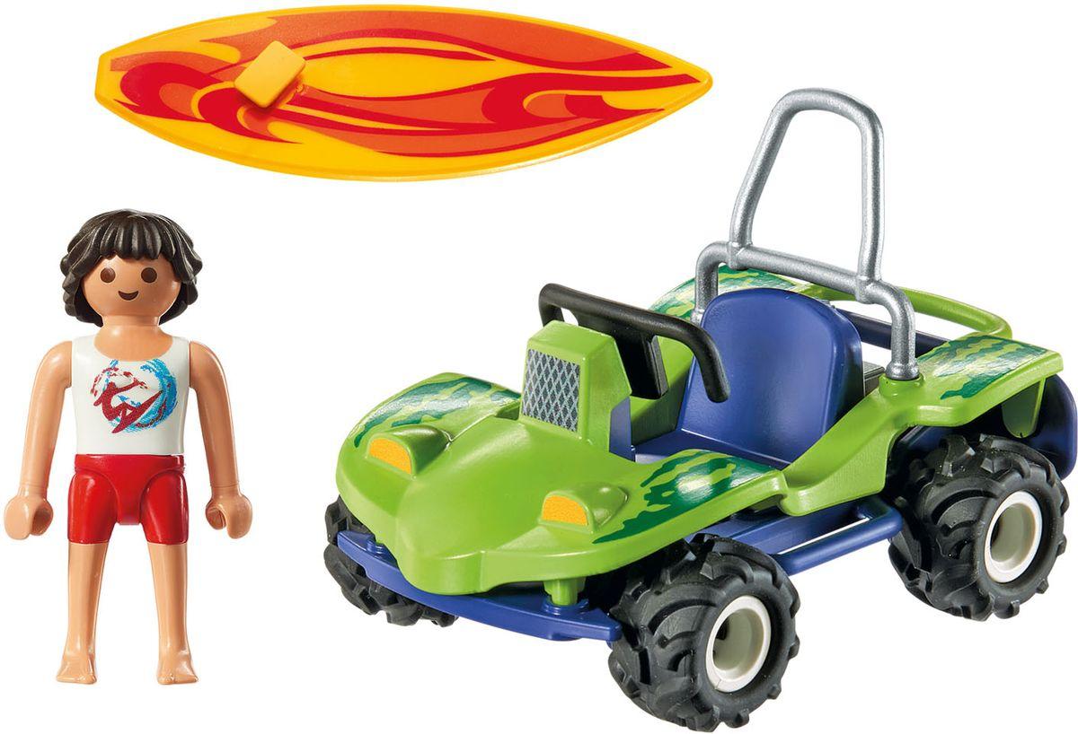 Playmobil Игровой набор Серфер с пляжным квадроциклом особняк номер для гостей playmobil