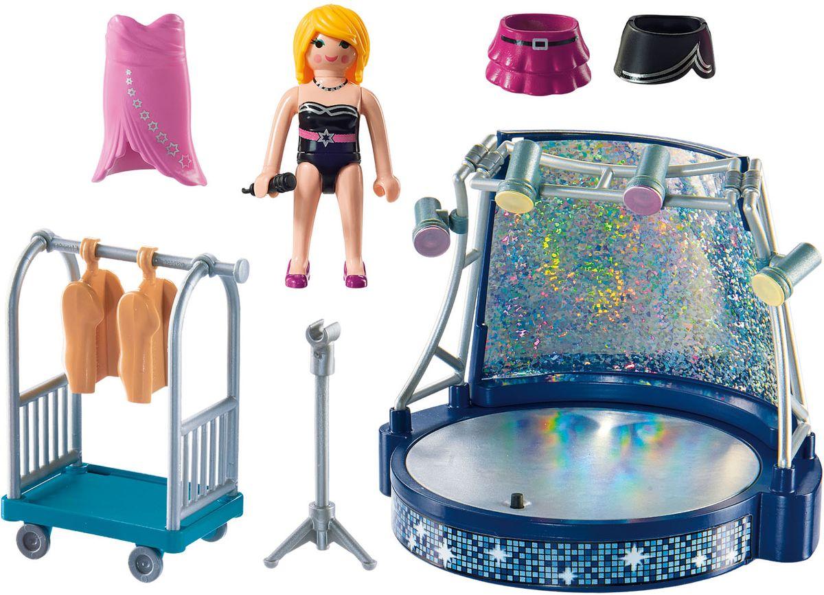 Playmobil Игровой набор Круизный Лайнер Певица со сценой