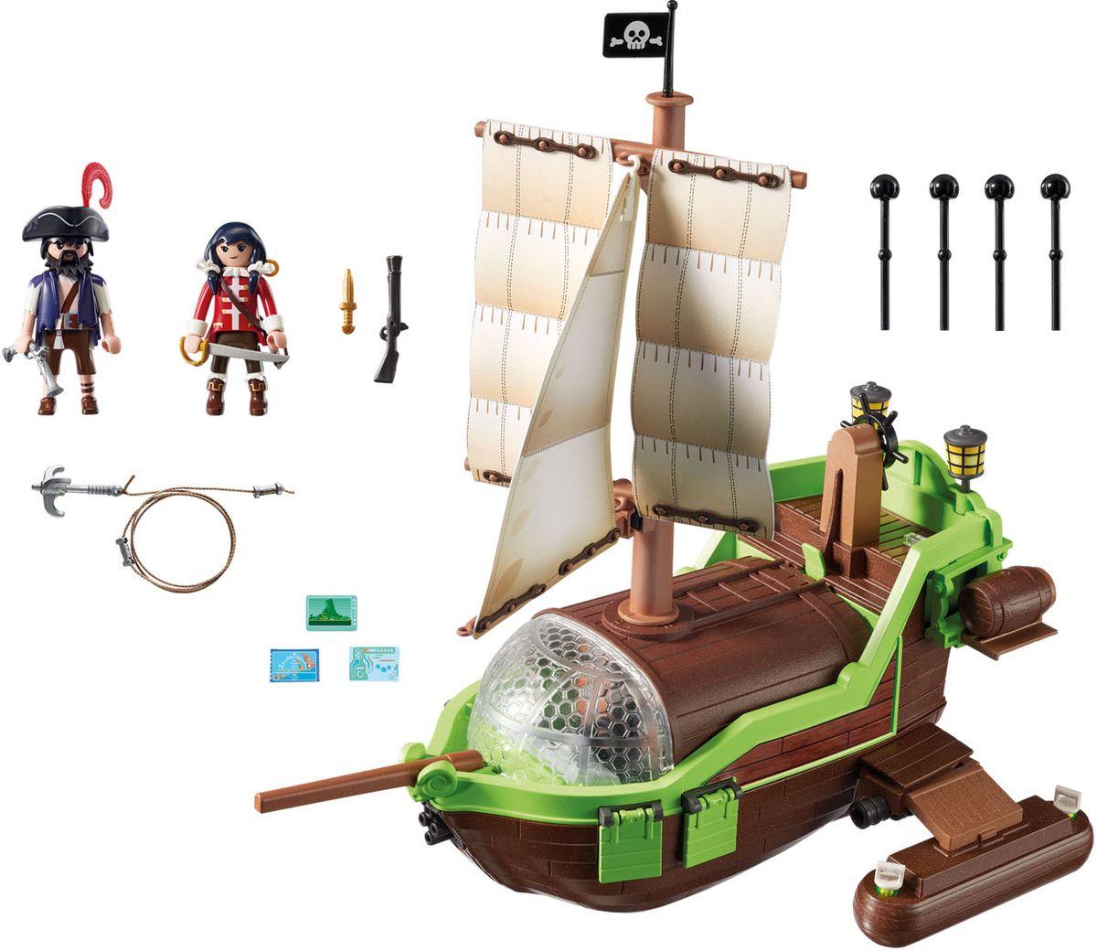 Playmobil Игровой набор Пират Хамелион с Руби playmobil® playmobil 5289 секретный агент мега робот с бластером