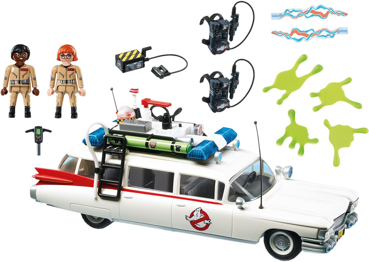 Playmobil Игровой набор Автомобиль Экто-1 playmobil игровой набор охотники за привидениями питер венкман и ужасные собаки