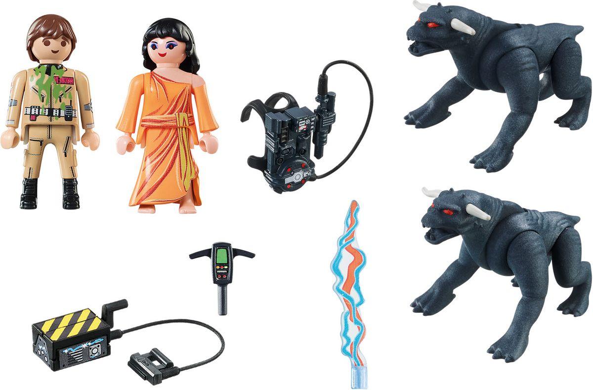 Playmobil Игровой набор Охотники за привидениями Питер Венкман и ужасные собаки playmobil игровой набор охотники за привидениями питер венкман и ужасные собаки