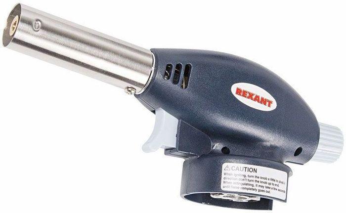 Газовая горелка-насадка Rexant GT-24, с пьезоподжигом12-0024Газовая горелка-насадка REXANT GT-24 с пьезоподжигом. Благодаря наличию пьезоподжига, такой горелкой удобно пользоваться одной рукой. Рекомендуется для работы с термоусаживаемыми трубками, перчатками, муфтами; для плавления и сварки изделий из пластиков и стекла; удаления краски; обработки поверхностей на производстве и в лабораторных условиях; для разморозки замков, водопроводных труб, продуктов; для копчения продуктов или карамелизации десертов; для украшения процесса подачи блюд; для работ в саду и огороде, для быстрого и экологичного поджига дров, угля. Перед началом работы с газовой горелкой REXANT необходимо ознакомиться с мерами предосторожности и инструкцией по эксплуатации на упаковке горелки. Характеристики: Диаметр сопла 20 мм Размеры: 170*66*51 мм Вес: 142 гр Мощность: 1,1 кВт\ 0,946 ккал Температура пламени: 1400 С (макс.) Расход газа: 80 гр/ч Тип газового баллона: ТВ-220 (цанговый) Топливо: смесь газа бутан\изобутан Тип поджига: встроенный пьезо Материал: Медь + нержавеющая сталь + алюминий + сплав цинка + пластик.