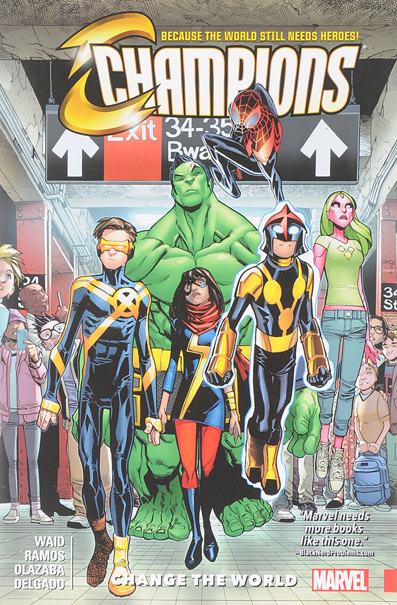 Champions Vol. 1: Change the World spider man deadpool vol 0 don t call it a team up