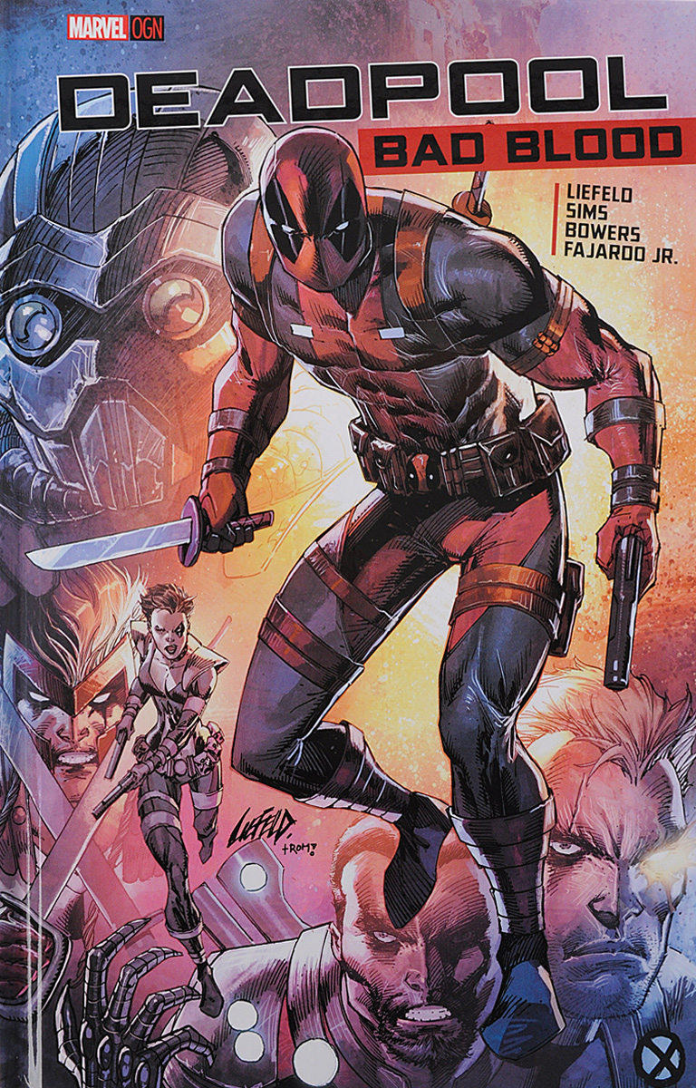 Deadpool: Bad Blood chris wormell george and the dragon