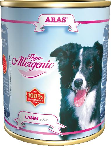 Консервы для собак Aras Hypo-Allergenic, гипоаллергенные, с бараниной и рисом, 820 г тушь для ресниц isadora hypo allergenic mascara 02