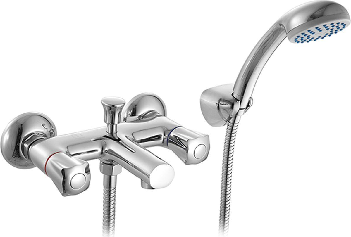 Смеситель для ванны Milardo Gibraltar, с коротким изливом, цвет: хромGIBSB00M02Смеситель для ванны Milardo Gibraltar изготовлен из высококачественной первичной латуни, прочной, безопасной и стойкой к коррозии. Инновационные технологии литья и обработки латуни, а также увеличенная толщина стенок смесителя обеспечивают его стойкость к перепадам давления и температур. Увеличенное никель-хромовое покрытие полностью соответствует европейским стандартам качества, обеспечивает его стойкость и зеркальный блеск в течение всего срока службы изделия. Благодаря гладкой внутренней поверхности смесителя, рассекателям в водозапорных механизмах и аэратору он имеет минимальный уровень шума. Ручная фиксация дивертора позволяет комфортно принимать душ даже при низком давлении воды. Керамические кран-буксы с углом поворота 180 градусов позволяют настраивать температуру и напор воды с высокой степенью точности. Ручки смесителя не нагреваются благодаря специальной форме встроенных (аэратор).В комплект входят лейка и шланг из нержавеющей стали длиной 1,5 м с защитой от перекручивания.Гарантия на смесители Milardo® - 7 лет. Гарантия на лейку и шланг составляет 1 года.
