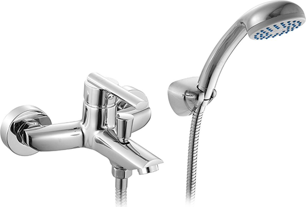 Смеситель для ванны Milardo Magellan, с коротким изливом, цвет: хромMAGSB00M02Смеситель для ванны Milardo Magellan изготовлен из высококачественной первичной латуни, прочной, безопасной и стойкой к коррозии. Инновационные технологии литья и обработки латуни, а также увеличенная толщина стенок смесителя обеспечивают его стойкость к перепадам давления и температур. Увеличенное никель-хромовое покрытие полностью соответствует европейским стандартам качества, обеспечивает его стойкость и зеркальный блеск в течение всего срока службы изделия. Благодаря гладкой внутренней поверхности смесителя, рассекателям в водозапорных механизмах и аэратору он имеет минимальный уровень шума.Ручная фиксация дивертора позволяет комфортно принимать душ даже при низком давлении воды.В комплект входят лейка и шланг из нержавеющей стали длиной 1,5 м с защитой от перекручивания.Гарантия на смесители Milardo® - 7 лет. Гарантия на лейку и шланг составляет 1 года.