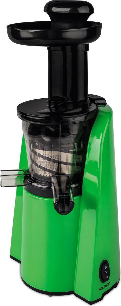 Scarlett SC-JE50S36, Green соковыжималкаSC-JE50S36Соковыжималка шнековая