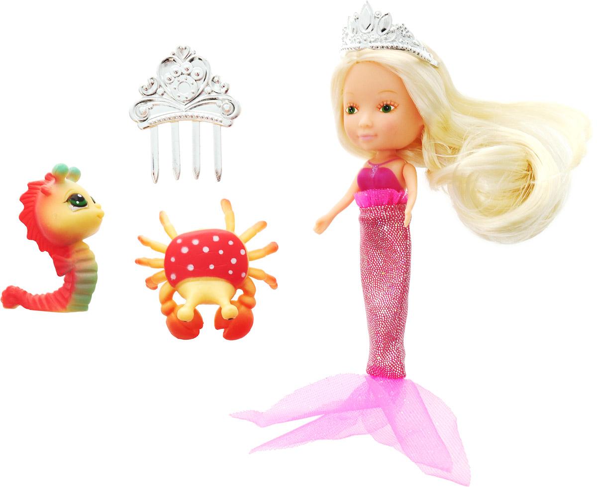 Veld-Co Игровой набор с мини-куклой Русалка и Морские обитатели 10423