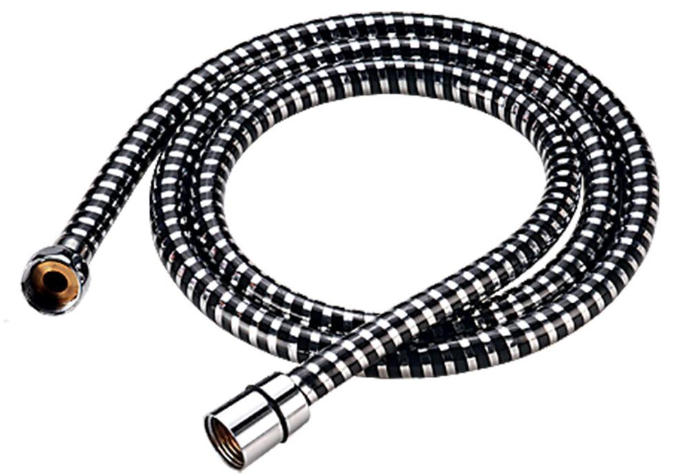 Шланг для душа Milardo, длина 2,0 м. 230P200M19230P200M19Шланг для душа Milardo изготовлен из ПВХ, армированного алюминиевой лентой и усиленного продольными нитями из полимерного материала, что придает ему исключительную прочность. Шланг также оборудован системой Twist Free, предотвращающей его перекручивание.Длина: 2 м.