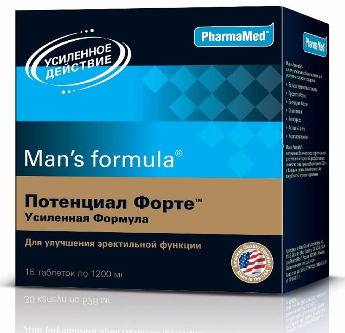 Витаминный комплекс Мен-С Формула Потенциал Форте. Усиленная формула, таблетки 1200 мг, №15222921Мен-С Формула Потенциал Форте. Усиленная формула содержит компоненты, способствующие выработке тестостерона, усиливающие эрекцию и либидо, обостряющие сексуальные ощущения! Сфера применения: витаминология, макро- и микроэлементы.