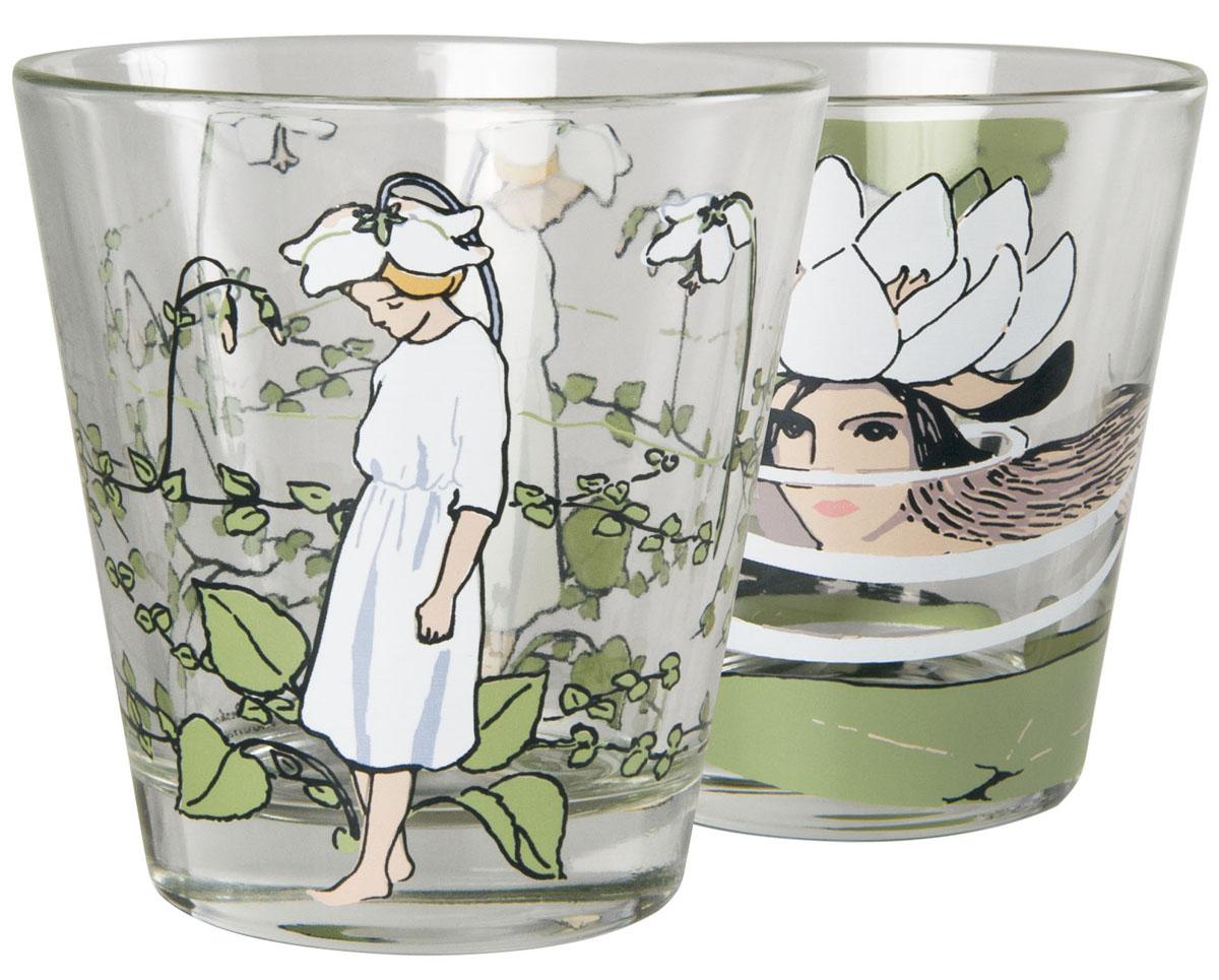 Набор стаканов Muurla Elsa Beskow, цвет: прозрачный, 210 мл250-027-07
