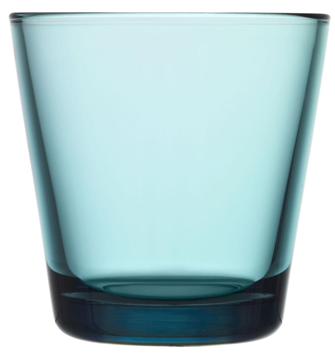 Набор стаканов Iittala Kartio, цвет: бирюзовый, 210 мл, 2 шт1008574Стаканы Iittala выполнены из высококачественного стекла. Изделия имеют удобную изящную форму, которая позволит им комфортно лежать в вашей руке. Дизайн стаканов будет радовать глаз. Легкий и прочный материал обеспечит сохранность изделия в течение многих лет.