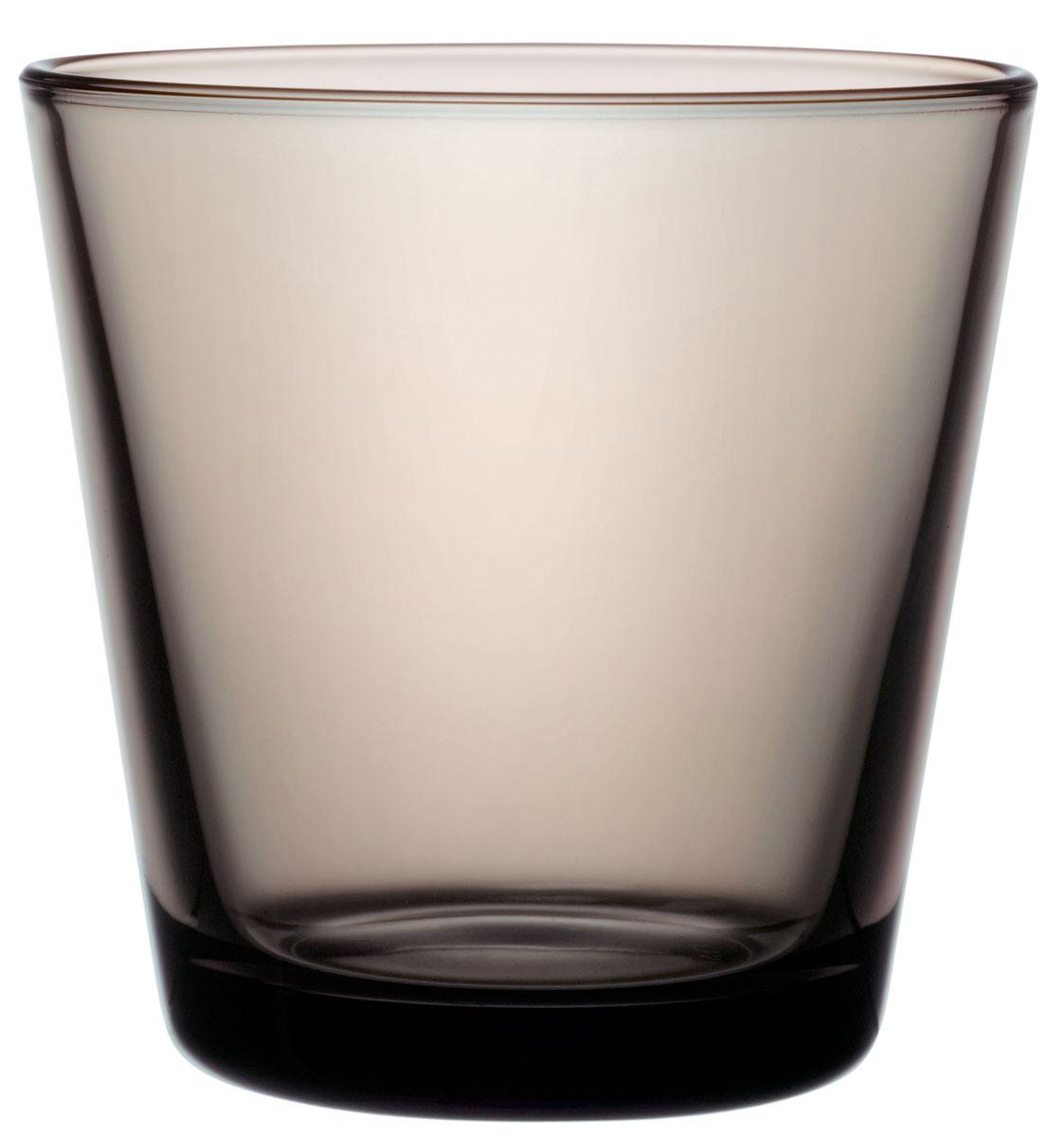 Набор стаканов Iittala Kartio, цвет: коричневый, 210 мл, 2 шт1008606Стаканы Iittala выполнены из высококачественного стекла. Изделия имеют удобную изящную форму, которая позволит им комфортно лежать в вашей руке. Дизайн стаканов будет радовать глаз. Легкий и прочный материал обеспечит сохранность изделия в течение многих лет.