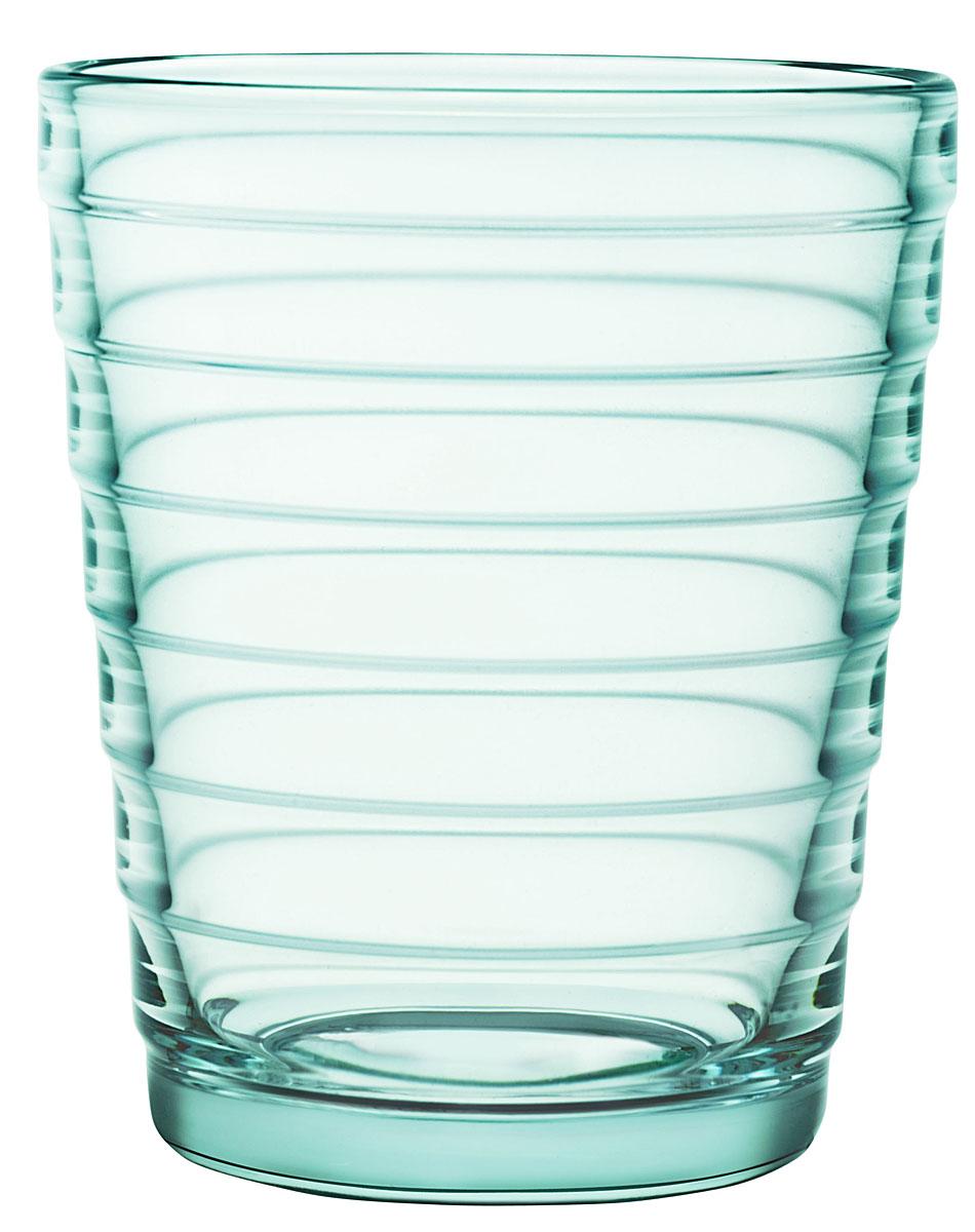 Набор стаканов Iittala Aino Aalto, цвет: бирюзовый, 220 мл, 2 шт1008627Стаканы Iittala выполнены из высококачественного стекла. Изделия имеют удобную изящную форму, которая позволит им комфортно лежать в вашей руке. Дизайн стаканов будет радовать глаз. Легкий и прочный материал обеспечит сохранность изделия в течение многих лет.