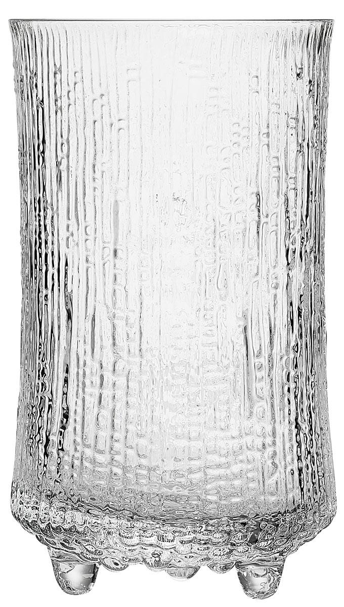 Бокал Iittala Ultima Thule, цвет: прозрачный, 600 мл, 2 шт1017Оригинальный бокал Iittala Ultima Thule выполнен из прочного стекла с рельефной поверхностью. Основание бокала дополнено ножками. В набор входят 2 бокала. Такие бокалы отлично подойдут для подачи коктейлей, воды или сока.