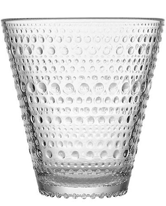 Стакан Iittala Kastehelmi, цвет: прозрачный, 300 мл, 2 шт1018763