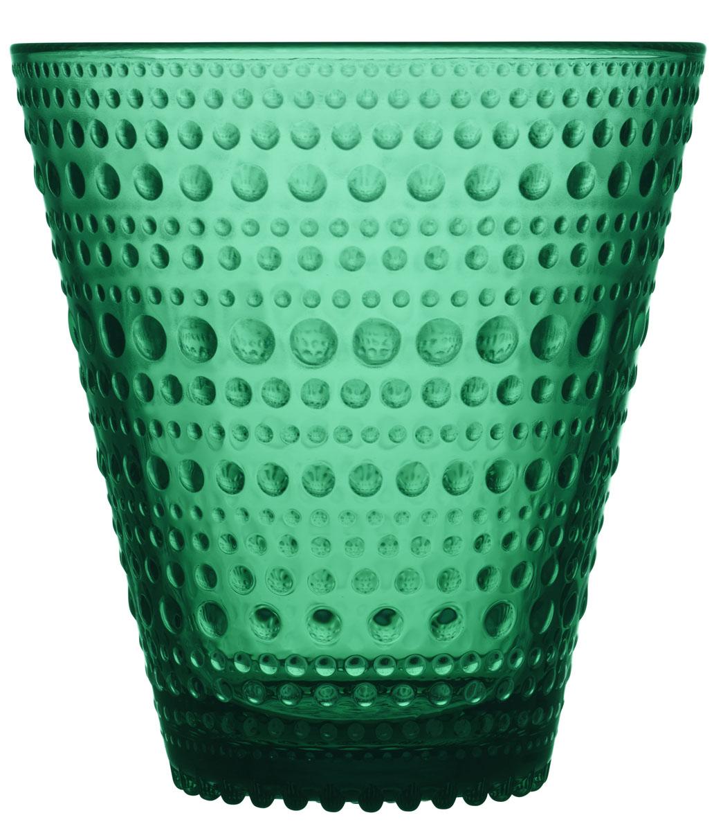 Набор стаканов Iittala Kastehelmi, цвет: изумрудый, 300 мл, 2 шт1019598Стаканы Iittala выполнены из высококачественного стекла. Изделия имеют удобную изящную форму, которая позволит им комфортно лежать в вашей руке. Дизайн стаканов будет радовать глаз. Легкий и прочный материал обеспечит сохранность изделия в течение многих лет.