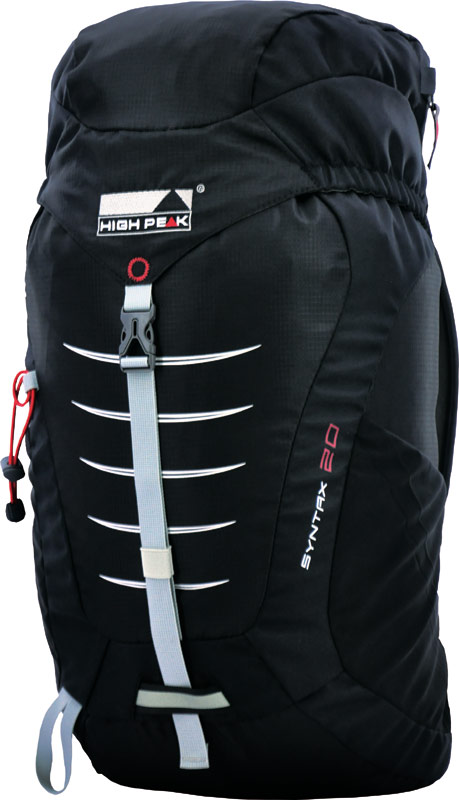 Рюкзак туристический High Peak Syntax, цвет: черный, 20 л рюкзаки high peak рюкзак