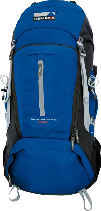 Рюкзак туристический High Peak Kilimanjaro, цвет: синий, 50 л рюкзаки high peak рюкзак