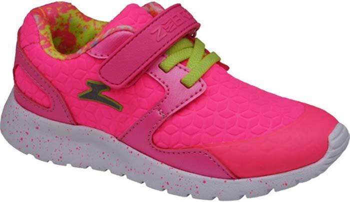 Кроссовки для девочки Зебра, цвет: розовый. 11908-9. Размер 2811908-9Кроссовки для девочки Зебра выполнены из дышащего текстиля и синтетических материалов. Застежка-липучка и шнуровка обеспечивают надежную фиксацию обуви на ноге ребенка. Подкладка выполнена из текстиля, что предотвращает натирание и гарантирует уют. Стелька с поверхностью из натуральной кожи дарит комфорт ногам. Подошва с рифлением обеспечивает идеальное сцепление с любыми поверхностями.