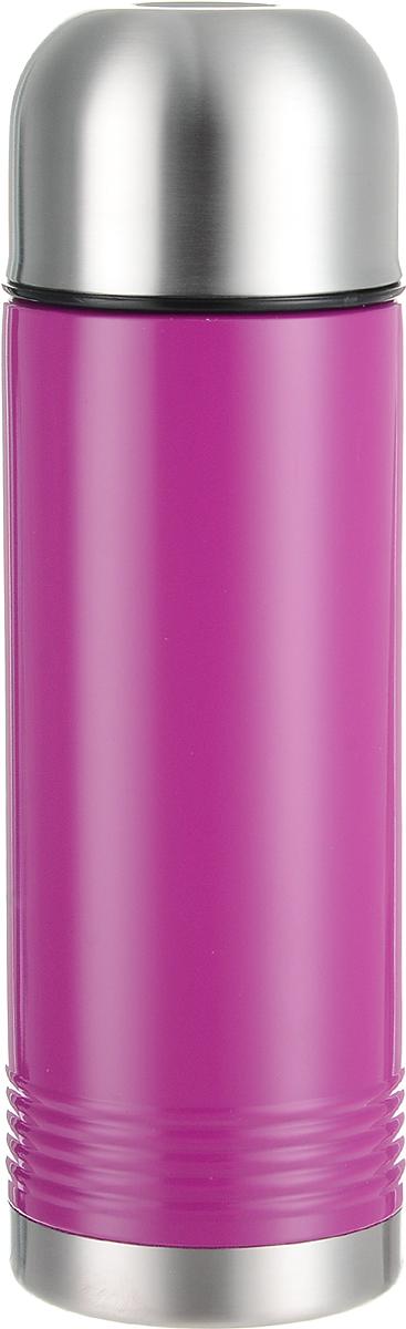 Термос Emsa Senator, цвет: малиновый, стальной, 700 мл515209Термос Emsa Senator имеет прочный корпус из нержавеющей стали. Модель снабжена герметичной пластиковой пробкой, которая предотвращает выливание содержимого. Крышка с внутренним пластиковым покрытием удобно завинчивается и может послужить в качестве чашки для напитков. Термос сохраняет напиток горячим 12 часов, холодным - 24 часа. Диаметр горлышка: 4,5 см. Диаметр основания: 8 см. Высота термоса (с учетом крышки): 26,5 см.Размер крышки: 8 х 8 х 6 см.