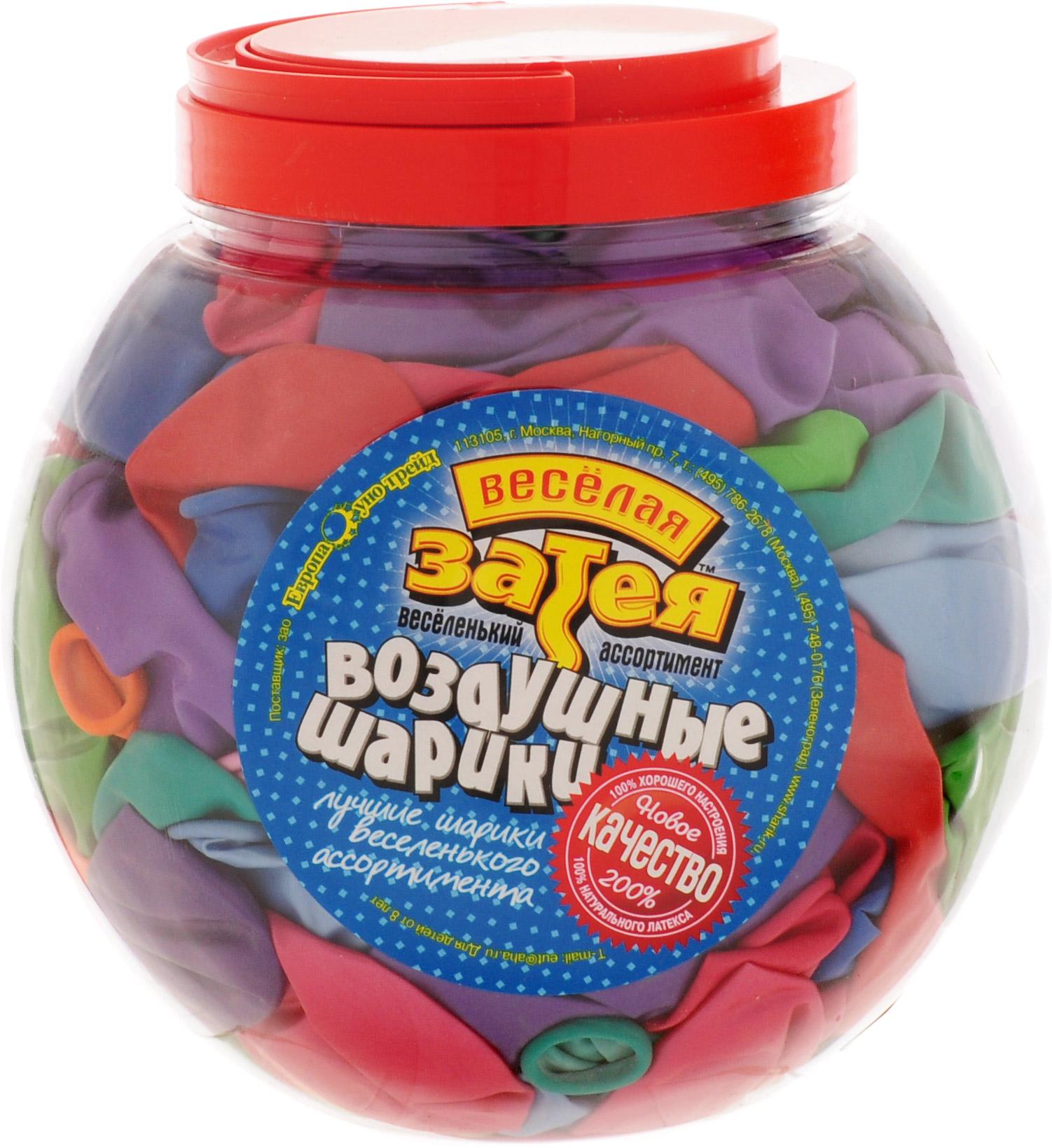 Веселая затея Набор воздушных шариков В 75 Супер 300 шт - Воздушные шарики