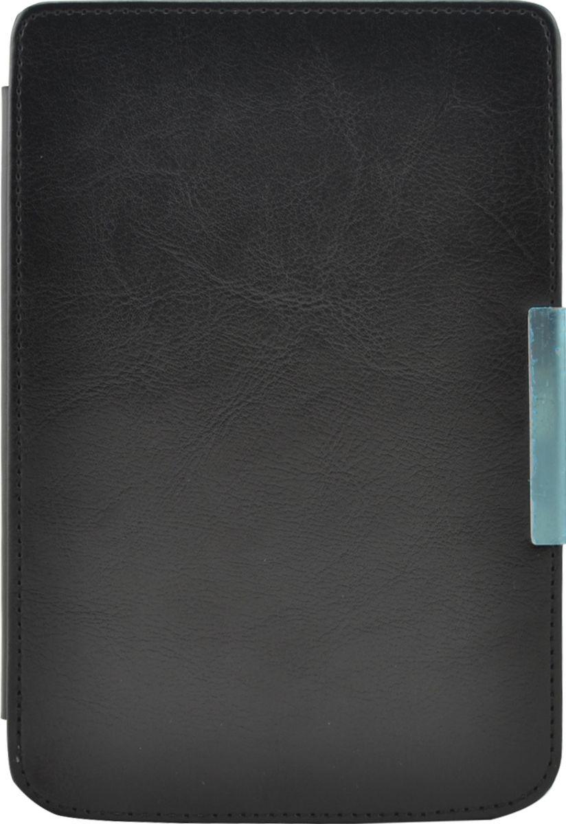 Skinbox Hard Case With Clips, Black чехол для PocketBook 614/615/624/625/6262000000013Чехол надежно защищает вашу электронную книгу от внешних воздействий, грязи, пыли, брызг. Он также поможет при ударах и падениях, не позволив образоваться на корпусе царапинам и потертостям. Чехол обеспечивает свободный доступ ко всем функциональным кнопкам электронной книги и камере.