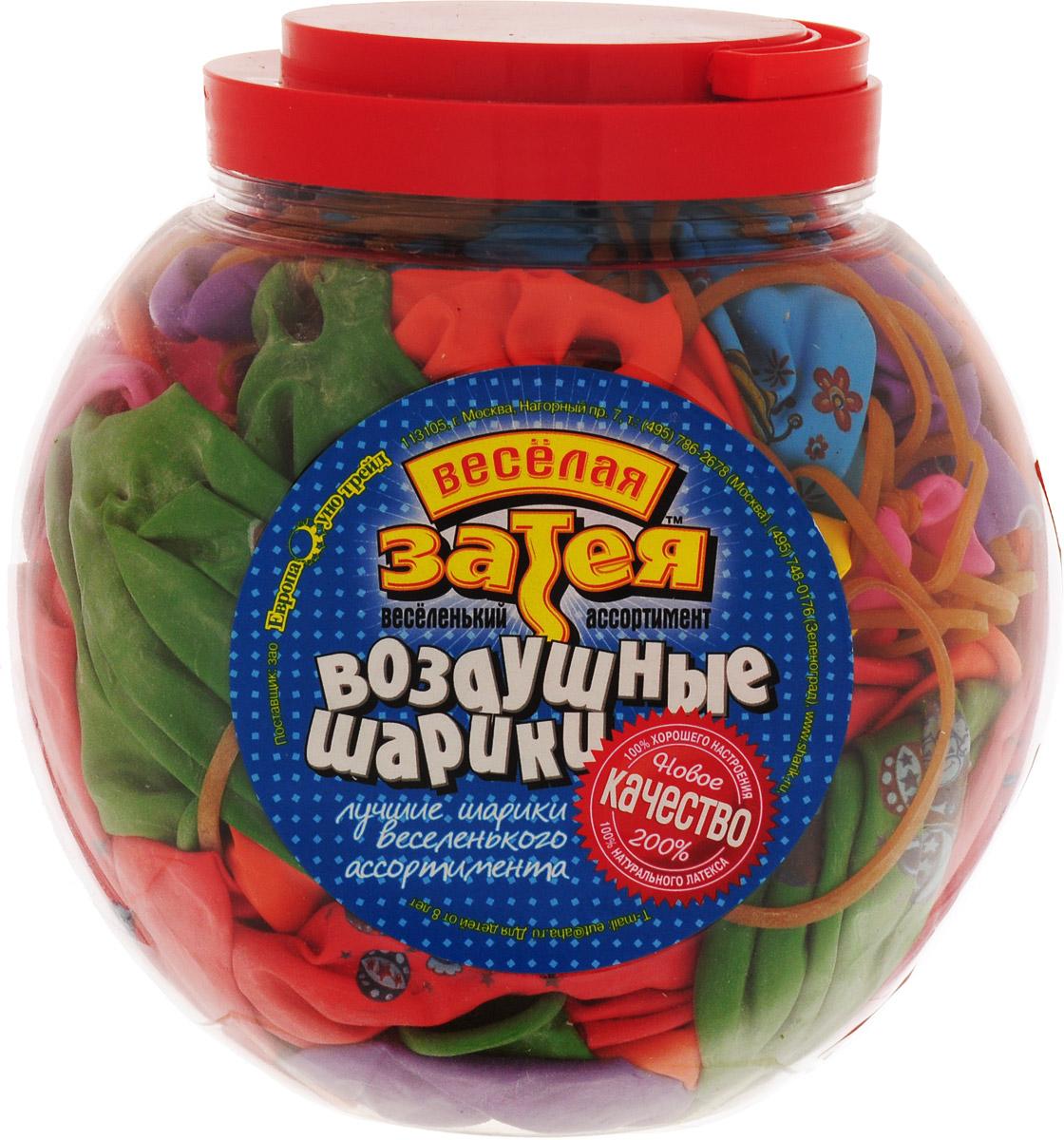 Веселая затея Набор воздушных шариков Панч-болл 50 шт 1110-0006 - Воздушные шарики