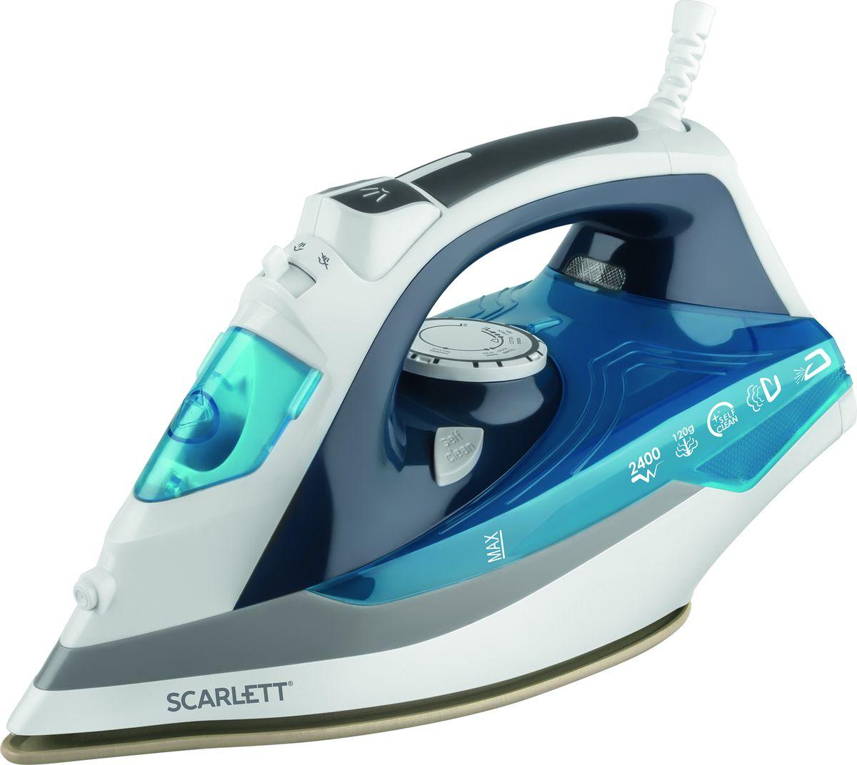 Scarlett SC-SI30P06, Green утюгSC-SI30P06Утюг Scarlett SC-SI30P06 облегчает уход за одеждой и приятно удивит вас своими возможностями. Подошва утюга с керамическим покрытием обеспечивает идеальное скольжение и избавит ваши вещи даже от самых сложных складок.Прибор обладает всеми необходимыми функциями для отличного результата: классический режим сухого глажения, отпаривание с регулировкой, функция разбрызгивания, возможность вертикального отпаривания. Модель оснащена функциями парового удара и самоочистки, а также системой анти-капля и анти-накипь. Уровень подачи пара регулируется. Индикатор нагрева напомнит вам, что прибор включен. Прорезиненная ручка устройства обеспечивает удобство использования. Сетевой шнур крепится при помощи шарового механизма, что не позволяет ему запутаться во время эксплуатации. В комплект входит мерный стаканчик для залива воды.