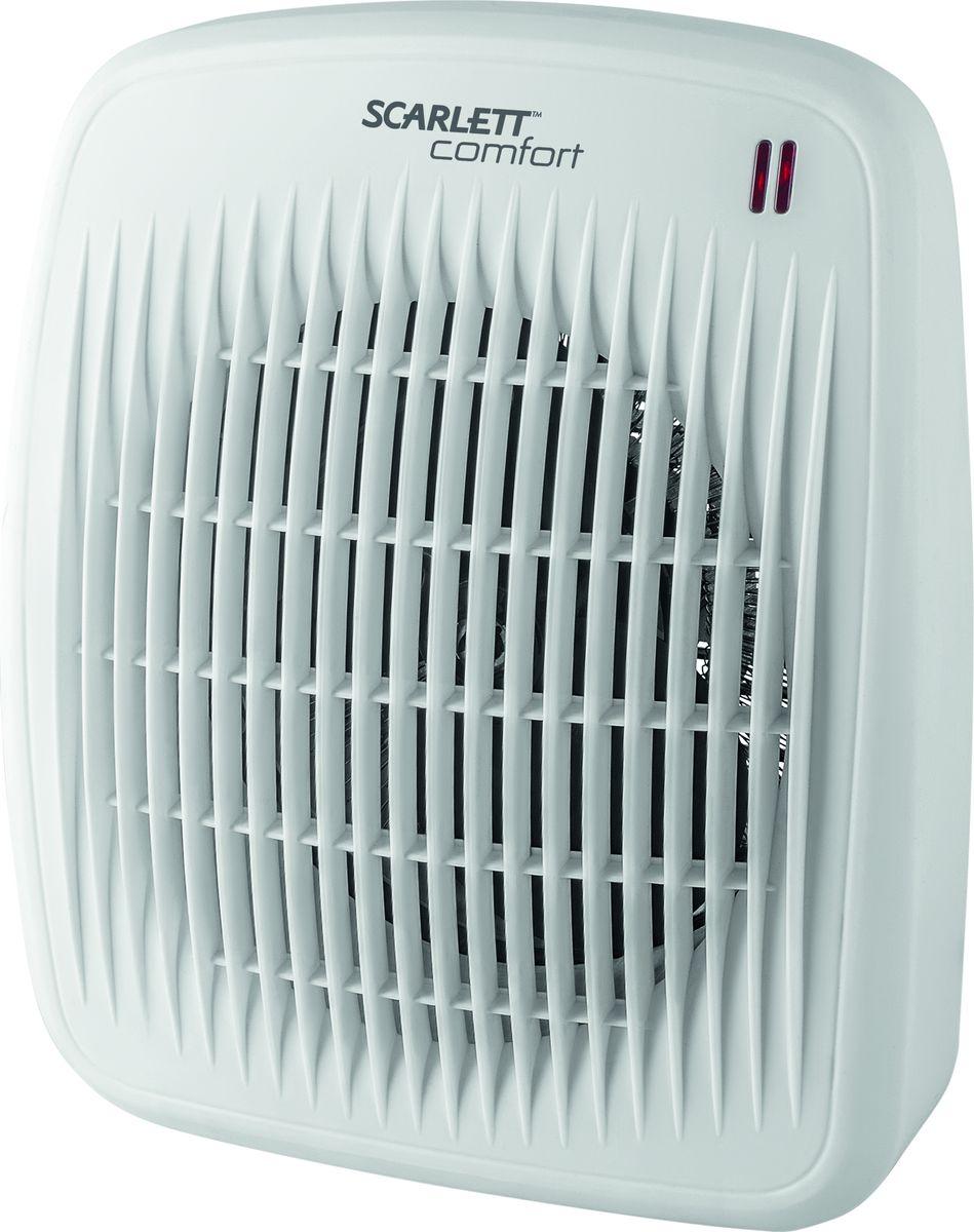 Scarlett SC-FH53016, White тепловентилятор напольный вентилятор scarlett sc 1176