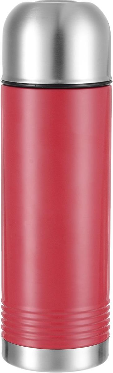 Термос Emsa Senator, цвет: красный, стальной, 700 мл515222Термос Emsa Senator имеет прочный корпус из нержавеющей стали. Модель снабжена герметичной пластиковой пробкой, которая предотвращает выливание содержимого. Крышка с внутренним пластиковым покрытием удобно завинчивается и может послужить в качестве чашки для напитков. Термос сохраняет напиток горячим 12 часов, холодным - 24 часа.Диаметр горлышка: 4,5 см.Диаметр основания: 8 см.Высота термоса (с учетом крышки): 26,5 см. Размер крышки: 8 х 8 х 6 см.
