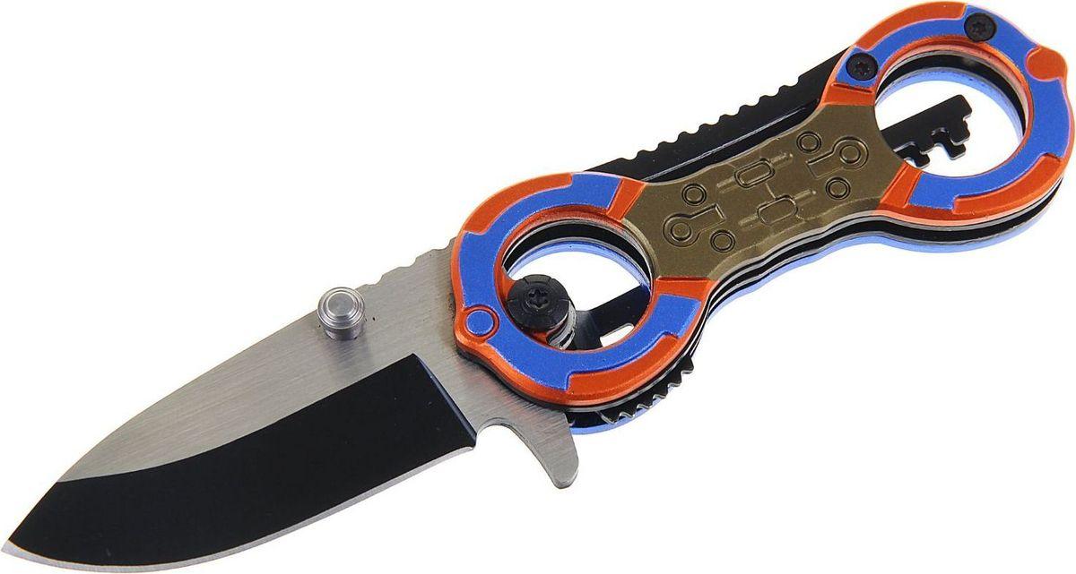 Нож перочинный, с фиксатором, 15 х 2 х 4 см. 11541921154192Нож складной неавтоматический с фиксатором сделан из высококачественной стали, его механические части просты и не требуют обслуживания. Вы сможете привести нож из сложенного положения в рабочее за долю секунды. Острый клинок станет незаменимым инструментом в быту и на отдыхе.Как ухаживать за ножом:Удалите консервационную смазку, если она есть. Подойдут WD-40, растворители масла и грязи для велоцепей.Вытрите насухо и смажьте клинок. Заливать нож маслом необязательно, достаточно протереть его тряпкой с небольшим количеством растительного масла.Появившиеся веснушки ржавчины можно просто заполировать. Вам понадобится средство с абразивом для царапин, сукно и паста для тонкой полировки.Шарнир можно мыть водой или тем же WD-40. Главное — хорошо просушить подвижную часть феном и легко его смазать.Помните: хорошо вымытый после использования нож служит годами, не имеет резкого запаха и не ломается.