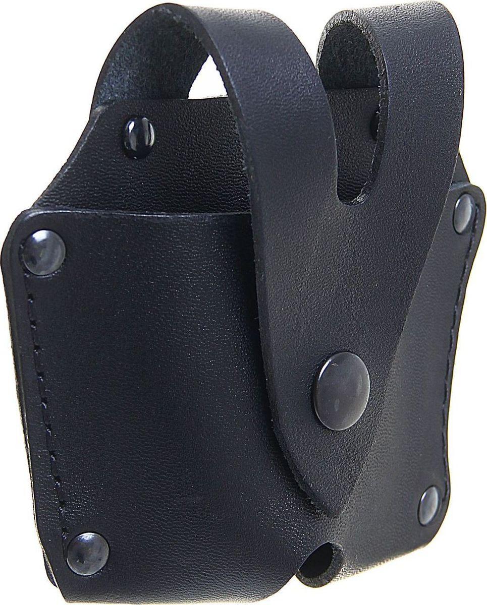 Чехол под наручники. 13613621361362Чехол предназначается для переноски наручников и крепится на поясной ремень. Он выполнен из высококачественной натуральной кожи. Изделие входит в комплект любого стандартного охранного подразделения.