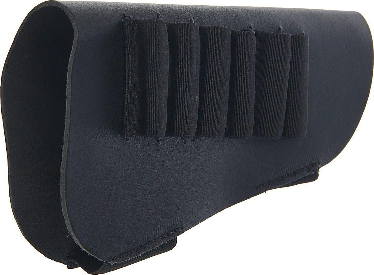 Патронташ на приклад, на 6 патронов, 12-16 к. 14531691453169Черный патронташ используется для ношения на прикладе охотничьего ружья. Он имеет 6 карманов для 12-16 калибра.Изделие выполнено из натуральной кожи.