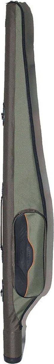 Чехол Fisherman для снаряженных спиннингов, 7,5 х 160 см. Ф331984530Чехол жёсткий для снаряжённых спиннинговспособен вместить пару удилищ, а также катушки, для которых сделаны дополнительные наружные карманы. Имеет прочную ручку и отстёгивающийся регулируемый по длине ремень рюкзачного типа, облегчающий переноску загруженного чехла. Дно защищено от повреждений пластиковым стаканом.