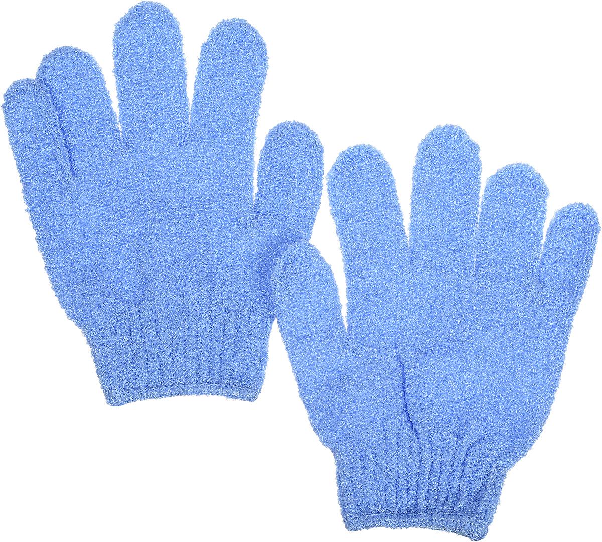 Перчатка массажная The Body Time, цвет: синий, 17,5 х 12,5 см, 2 шт57201_синийМассажная перчатка The Body Time, выполненная из полиэстера, прекрасно массирует и очищает кожу, повышает ее тонус, улучшает циркуляцию крови и обмен веществ. Обладая эффектом скраба, перчатка мягко отшелушивает верхний слой эпидермиса, стимулируя рост новых молодых клеток, делая кожу здоровой и красивой. Перчатка используется для душа или для массажных процедур.