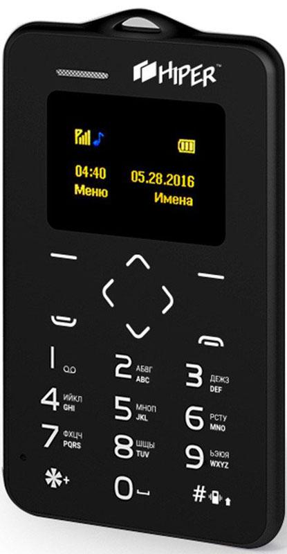 HIPER sPhone Card, Black (P-01BLK) P-01BLK