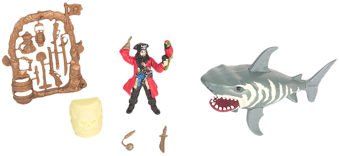 Chap Mei Игровой набор Пираты Нападение акулы контратака лучшая защита нападение
