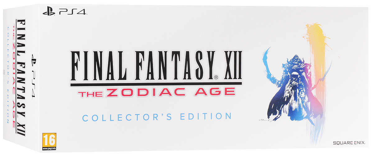 Final Fantasy XII: The Zodiac Age. Коллекционное издание (PS4) the name of the blade book three frail human heart