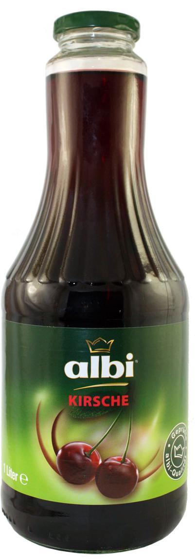 ALBI сок вишневый 35%, 1 л4003240307003Компания Albi - известный производитель соков из Германии, крупнейшая семейная фирма, на родине входящая в тройку лидеров продаж. Основой успеха фирмы Albi стали высокое качество сырья и технология изготовления со сбережением полезных свойств плодов. Изготавливается продукция Albi из местного сырья нового урожая. Благодаря усовершенствованной системе контроля, отбираются только спелые и здоровые фрукты и овощи. Плоды поступают на переработку напрямую из сада, поэтому продукция Albi сохраняет все витамины и минералы отборных плодов. Благодаря использованию современной технологии продукция Albi не содержит сахара, консервантов и красителей, что подтвердит любое лабораторное независимое исследование. Оригинальные и классические фруктовые, овощные соки, нектары и фруктовые напитки представляют широкий ассортимент продукции Albi.