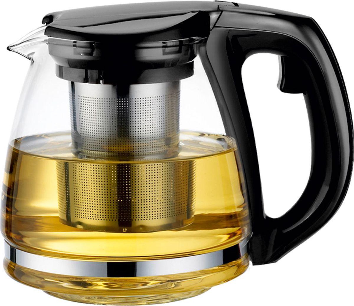 Чайник заварочный Vitesse, с фильтром, 1,1 лVS-4001Заварочный чайник Vitesse станет достойным и функцианальным аксессуаром вашей кухони. Он изготовлен из жаростойкого стекла. Изделия из стекла не впитывают запахи, благодаря чему вы всегда получите натуральный, насыщенный вкус и аромат напитков. Фильтр, выполненный из нержавеющейстали, гарантирует прозрачность и чистоту напитка от чайных листьев, при этом сохранив букет и насыщенность чая.Ручка и крышка чайника выполнены из пищевого пластика.Прозрачные стенки чайника дают возможность насладиться насыщенным цветом заваренного чая. Подходит для мытья в посудомоечной машине.Объем чайника: 1,1 л.