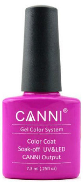 Canni Гель-лак для ногтей Colors, тон №224, 7,3 мл11793Гель-лак Canni – это покрытие для ногтей нового поколения, которое поставит крест на всех известных Вам ранее проблемах и трудностях использования Гель-лаков. Это самые качественные и самые доступные шеллаки на сегодняшний день. Canni Гель-лак может легко сравниться по качеству с продукцией CND, а в цене и вовсе выигрывает у американского бренда. Предельно простое нанесение, способность к самовыравниванию, отличная пигментация, безопасное снятие, безвредность для здоровья ногтей и огромная палитра оттенков – это далеко не все достоинства Гель-лаков Канни. Каждая женщина найдет для себя в них что-то свое, отчего уже никогда не сможет отказаться.Как ухаживать за ногтями: советы эксперта. Статья OZON Гид