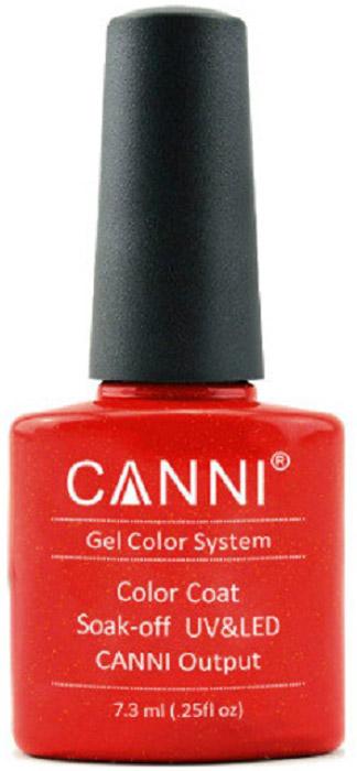 Canni Гель-лак для ногтей Colors, тон №210, 7,3 мл