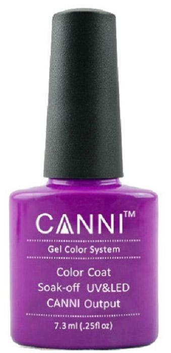 Canni Гель-лак для ногтей Colors, тон №20, 7,3 мл