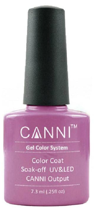 Canni Гель-лак для ногтей Colors, тон №33, 7,3 мл9727Гель-лак Canni – это покрытие для ногтей нового поколения, которое поставит крест на всех известных Вам ранее проблемах и трудностях использования Гель-лаков. Это самые качественные и самые доступные шеллаки на сегодняшний день. Canni Гель-лак может легко сравниться по качеству с продукцией CND, а в цене и вовсе выигрывает у американского бренда. Предельно простое нанесение, способность к самовыравниванию, отличная пигментация, безопасное снятие, безвредность для здоровья ногтей и огромная палитра оттенков – это далеко не все достоинства Гель-лаков Канни. Каждая женщина найдет для себя в них что-то свое, отчего уже никогда не сможет отказаться.Как ухаживать за ногтями: советы эксперта. Статья OZON Гид