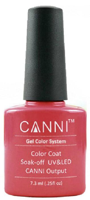 Canni Гель-лак для ногтей Colors, тон №56, 7,3 мл9750Гель-лак Canni – это покрытие для ногтей нового поколения, которое поставит крест на всех известных Вам ранее проблемах и трудностях использования Гель-лаков. Это самые качественные и самые доступные шеллаки на сегодняшний день. Canni Гель-лак может легко сравниться по качеству с продукцией CND, а в цене и вовсе выигрывает у американского бренда. Предельно простое нанесение, способность к самовыравниванию, отличная пигментация, безопасное снятие, безвредность для здоровья ногтей и огромная палитра оттенков – это далеко не все достоинства Гель-лаков Канни. Каждая женщина найдет для себя в них что-то свое, отчего уже никогда не сможет отказаться.