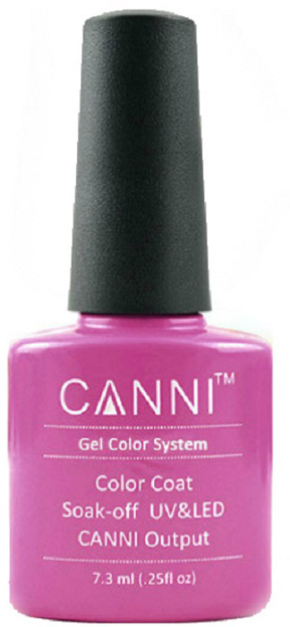 Canni Гель-лак для ногтей Colors, тон №71, 7,3 мл9765Гель-лак Canni – это покрытие для ногтей нового поколения, которое поставит крест на всех известных Вам ранее проблемах и трудностях использования Гель-лаков. Это самые качественные и самые доступные шеллаки на сегодняшний день. Canni Гель-лак может легко сравниться по качеству с продукцией CND, а в цене и вовсе выигрывает у американского бренда. Предельно простое нанесение, способность к самовыравниванию, отличная пигментация, безопасное снятие, безвредность для здоровья ногтей и огромная палитра оттенков – это далеко не все достоинства Гель-лаков Канни. Каждая женщина найдет для себя в них что-то свое, отчего уже никогда не сможет отказаться.Как ухаживать за ногтями: советы эксперта. Статья OZON Гид