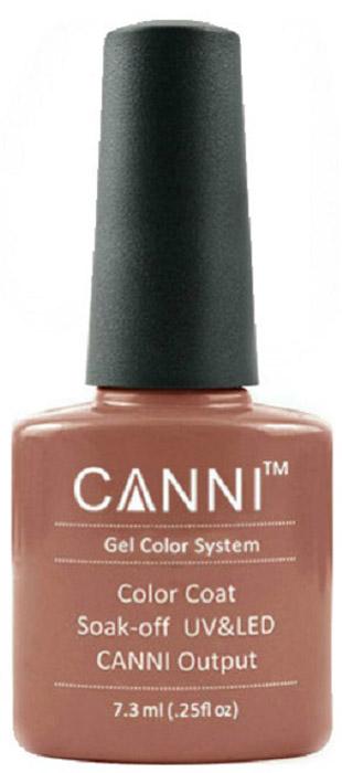 Canni Гель-лак для ногтей Colors, тон №72, 7,3 мл